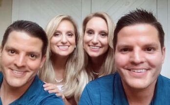 Brittany & Briana and their husbands